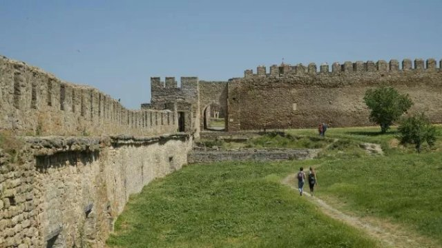 В Аккерманской крепости открыли новый туристический маршрут