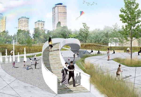 Что изменилось во вновь открывшемся парке в Строгинской пойме