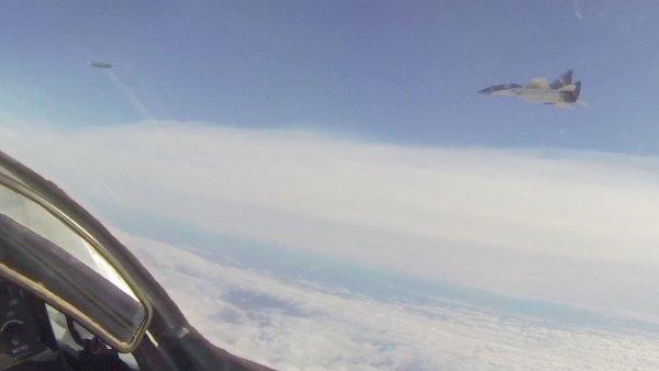 Российские пилоты встретили НЛО над Чёрным морем