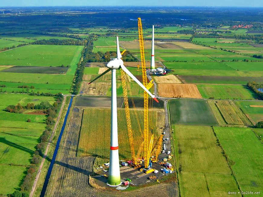Финны ищут подрядчика для строительства грандиозного ветропарка в России