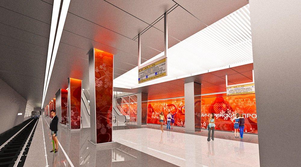 Как выглядит станция «Мичуринский проспект» после отделки