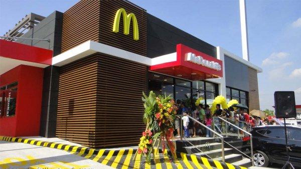 До конца года в Красноярске построят первый в городе McDonalds
