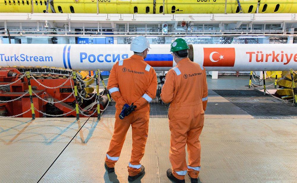 «Газпром» раскрыл свои планы по запуску первой нитки «Турецкого потока»