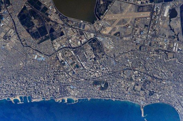 Российский космонавт поделился уникальными снимками Александрии с МКС