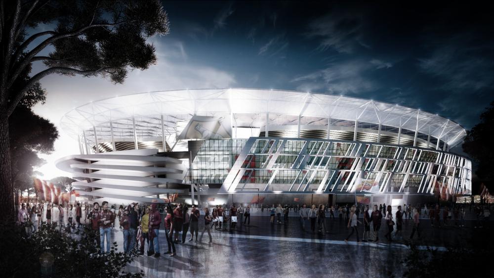 Девять человек арестованы за коррупцию при строительстве стадиона «Рома»