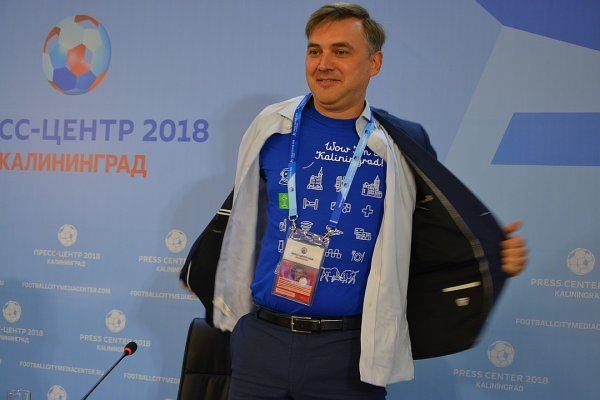 В Калининграде министр разделся перед журналистами