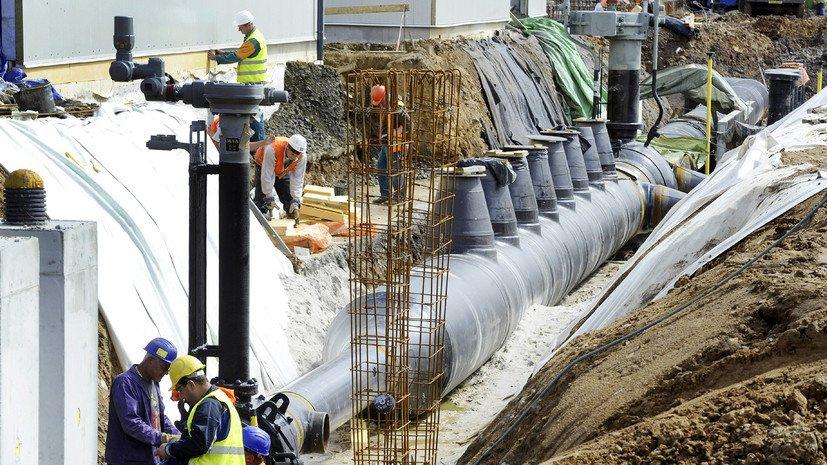 «Нафтогаз»: Строительство «Северного потока-2» нарушает законодательство ЕС