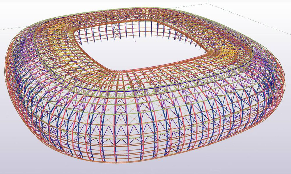 БИМ-технологии использовались при строительстве 8 стадионов ЧМ-2018