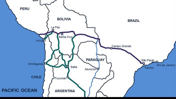 РЖД может принять участие в амбициозном латиноамериканском проекте