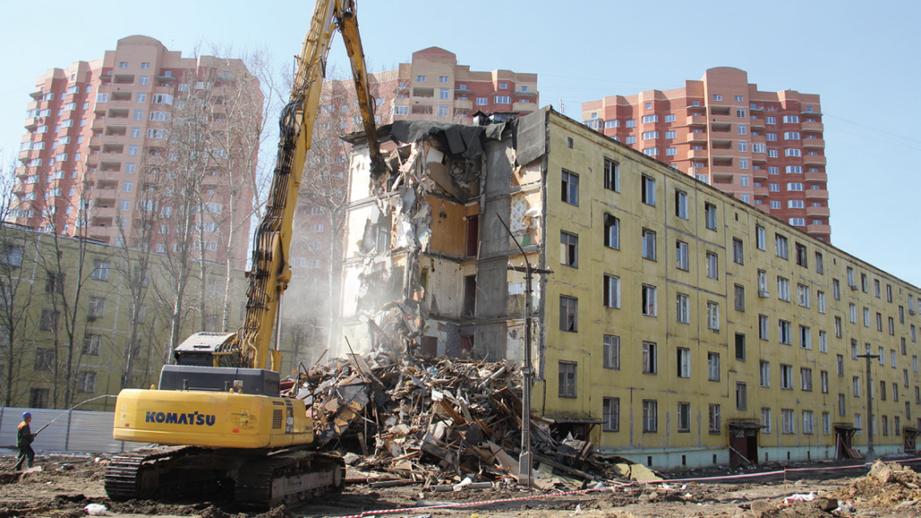 Названа дата начала строительства домов по программе реновации