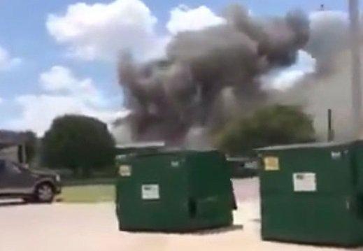Один рабочий погиб и 12 ранены при взрыве на стройплощадке в Техасе