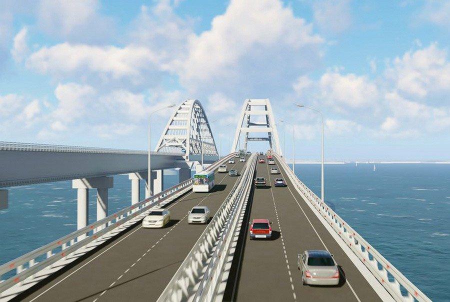 Названа дата начала строительства транспортного подхода к Крымскому мосту