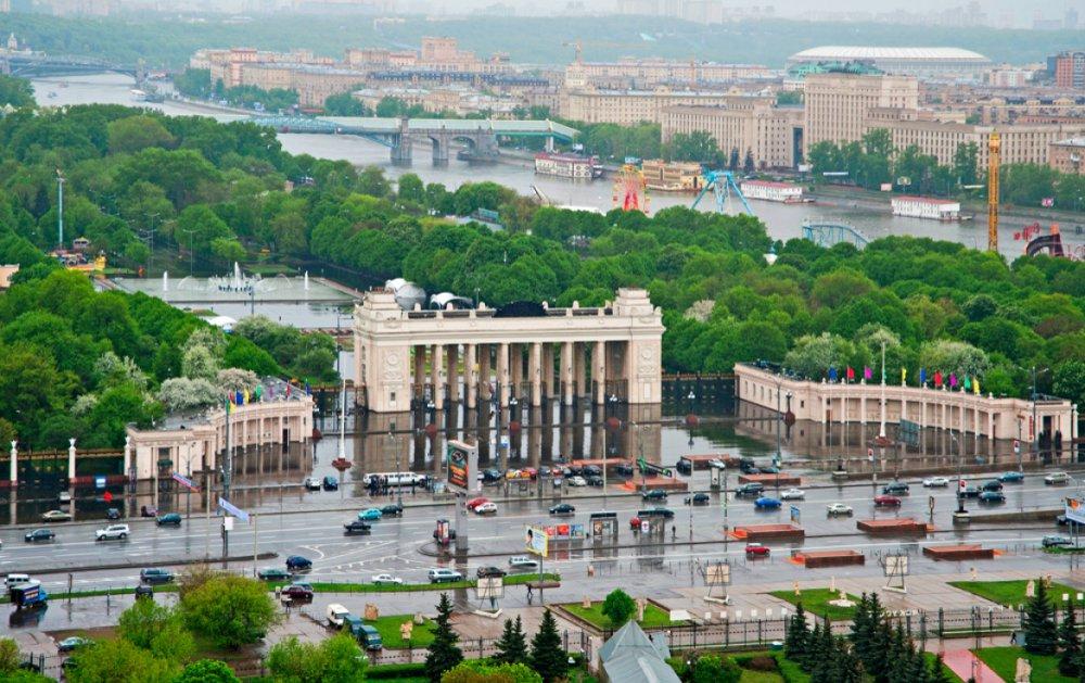 Каким станет вход в Парк Горького со стороны Ленинского проспекта