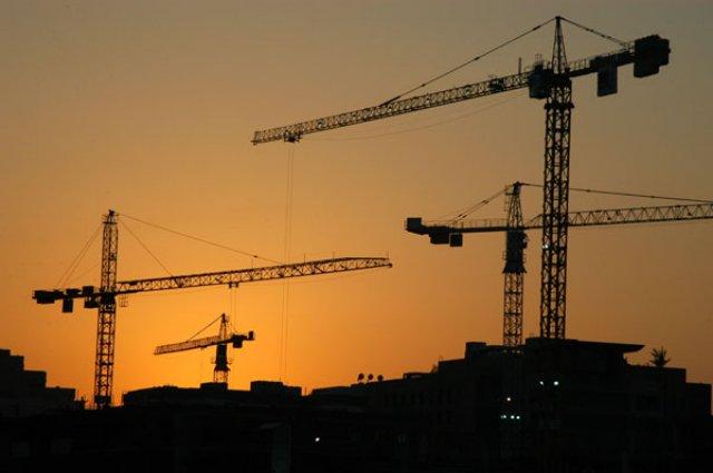 Строительные предприятия увеличили объемы работ до 36,3 млрд. гривен