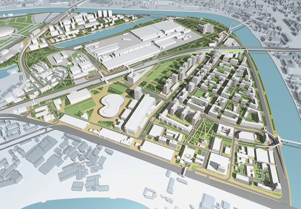 Новый технопарк планируется создать в промзоне «Курьяново» в Москве