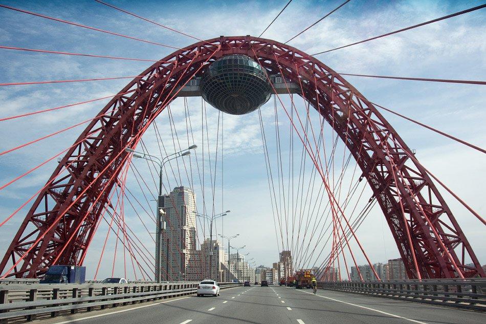 Подробности открытия движения по новому Крылатскому мосту через Москву-реку