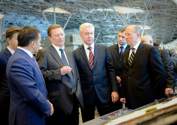 Сергей Собянин поздравил коллектив аэропорта Внуково с 77-летием
