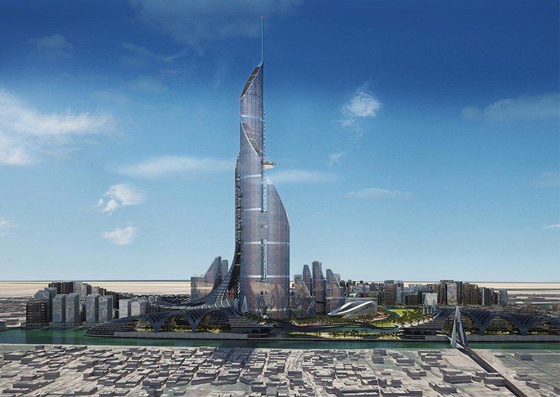 Началось строительство самого высокого жилого небоскреба «Москва-сити»