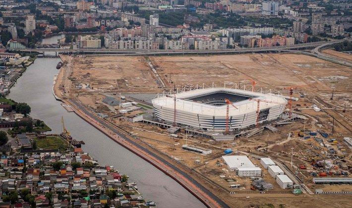 Власти Калининграда намерены застроить остров со стадионом ЧМ-2018