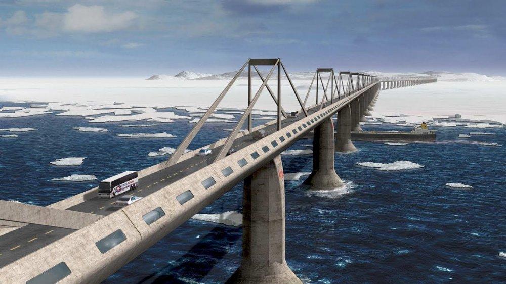 Стали известны подробности строительства моста на Сахалин
