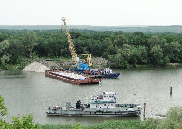 Глава Красновского поселения: «Переправа через Северский Донец работает в штатном режиме»