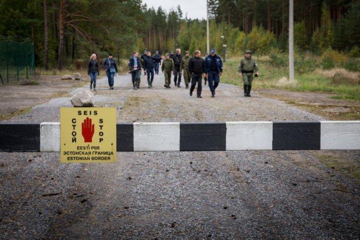 Обустройство границы Эстонии с Россией обойдется в 320 млн евро