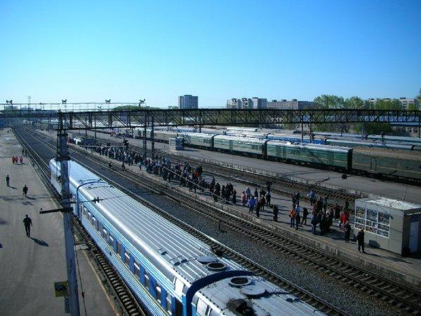 На вокзале в Тюмени стартовало строительство пешеходного перехода с лифтами