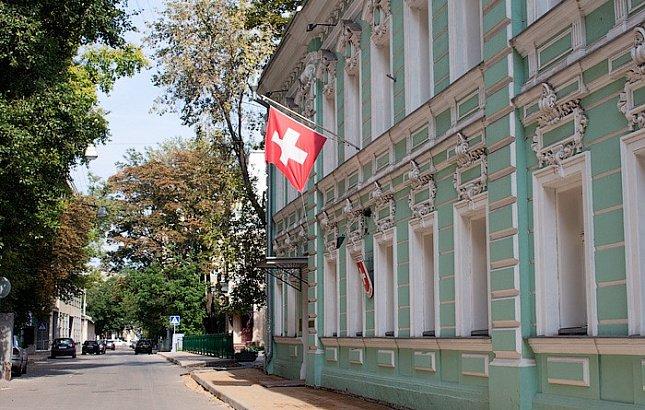 3-этажное здание посольства Швейцарии построили в центре Москвы
