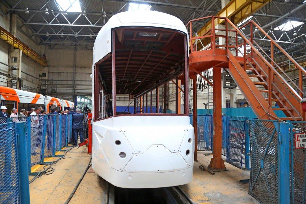 В России создали уникальные модели трамваев