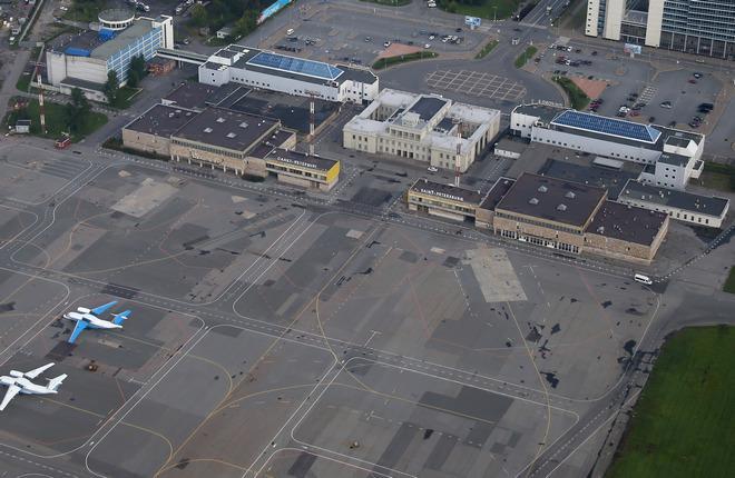 Как реконструируют перрон аэродрома «Пулково-2»