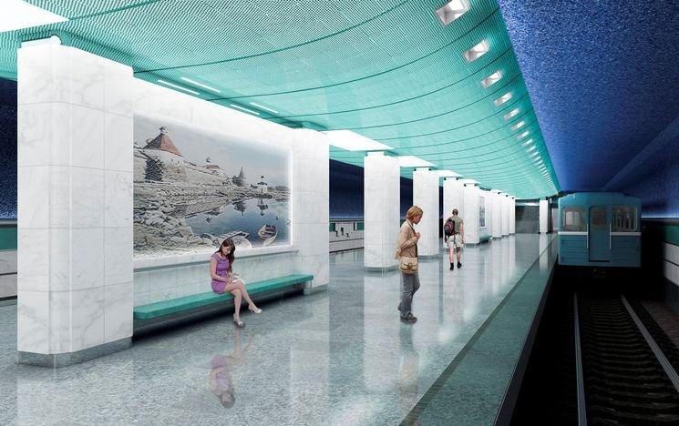 Власти Москвы просят дать им «окно ночью» на «Беломорскую» станцию метро