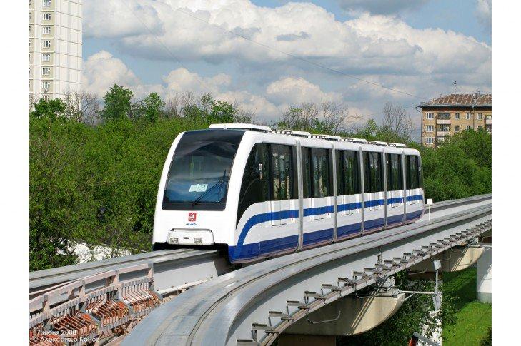 В Москве может появиться «полноценный трамвай-монорельс»