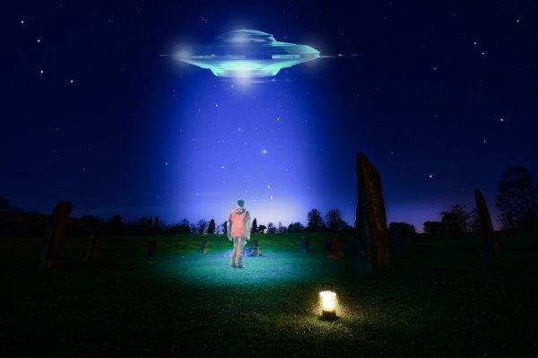 Очередной НЛО заметили в небе над Ростовом