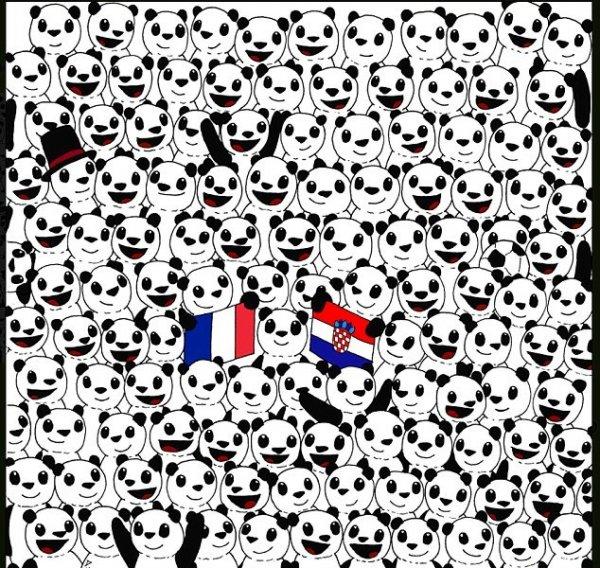 Где футбольный мяч?: Веселая картинка «сломала мозг» пользователям Сети