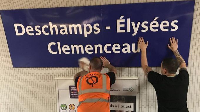 «Наш Дидье Дешам» — французы переименовали станции метро