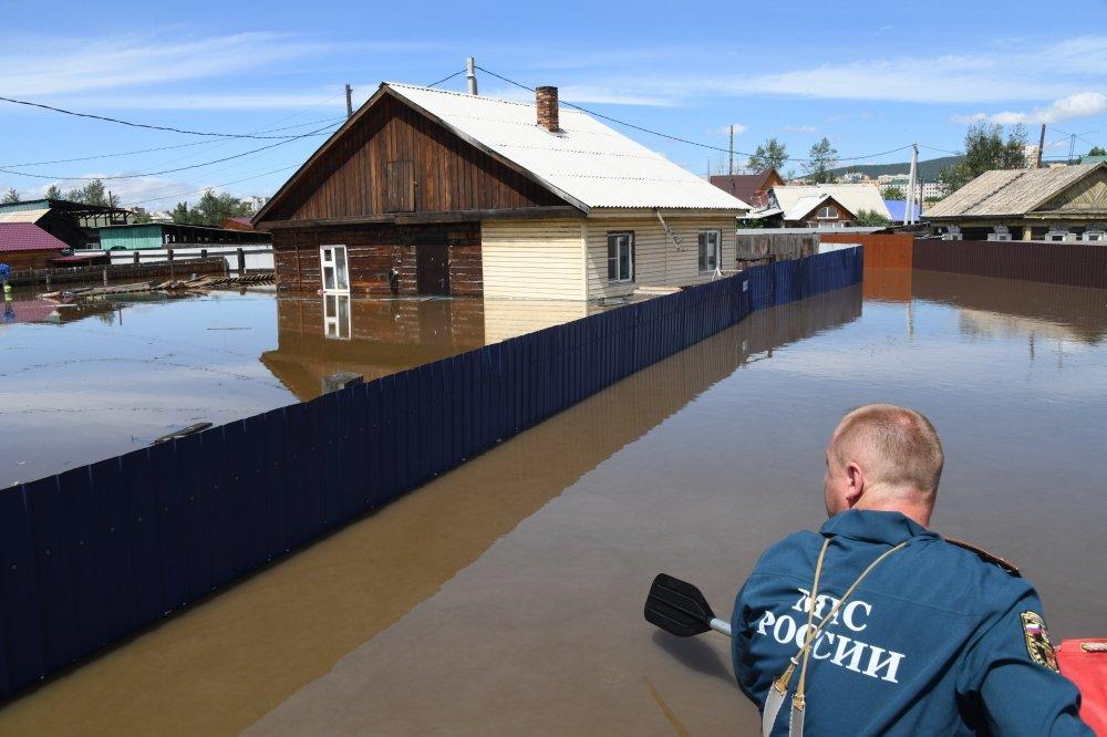 Паводок в Забайкальском крае разрушил мосты и нанес ущерб в 1 млрд рублей