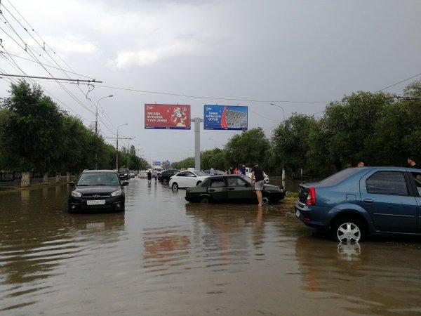 В Волгограде введен режим чрезвычайной ситуации из-за сильных ливней