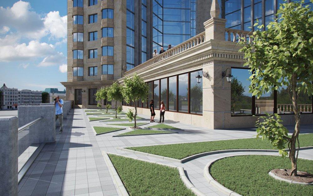 Комплекс с гостиничной, торговой и офисной зонами построят на Автозаводской улице