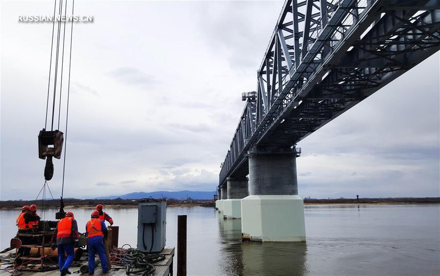 Что происходит на стройке моста через Амур в Китай