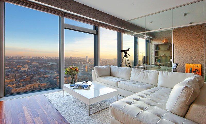 Самое дешевое жилье в небоскребе Москвы оценили в 2,9 млн рублей