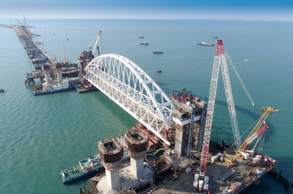 В список ЕС добавят еще 6 компаний-участниц строительства Крымского моста