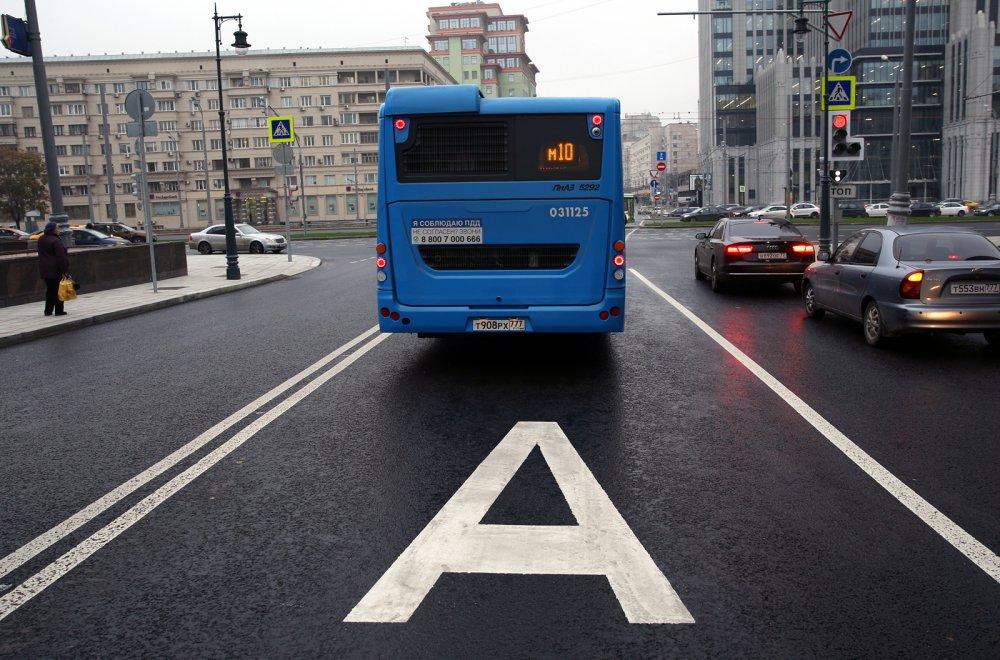 Где в Москве появятся выделенные полосы, которые сэкономят 15 мин в дороге