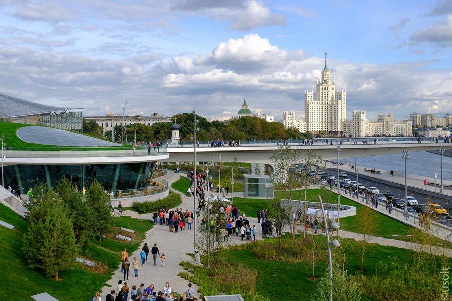 Стоимость реконструкции около парка «Зарядье» превысит 10 млрд рублей