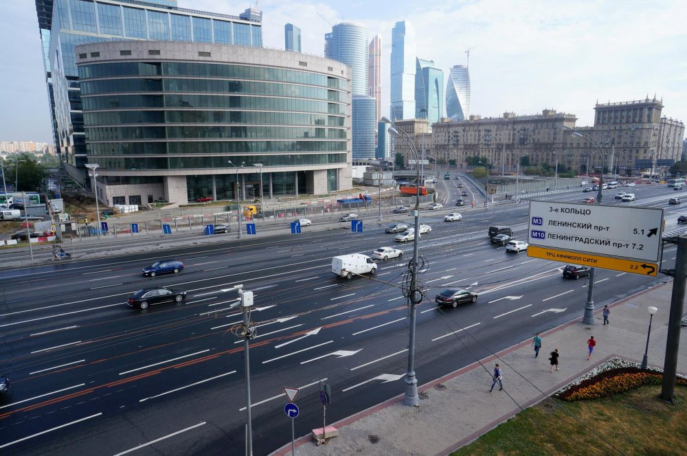 Что происходит на стройке южного дублера Кутузовского проспекта