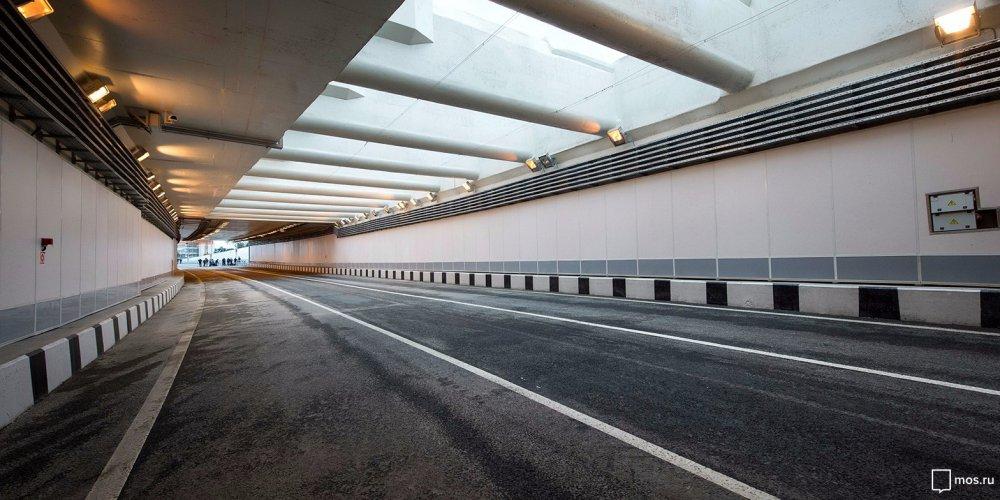 Новый тоннель на Калужском шоссе ускорит движение транспорта на 15%