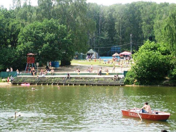 Зона отдыха «Тропарево» снова открыта для купания