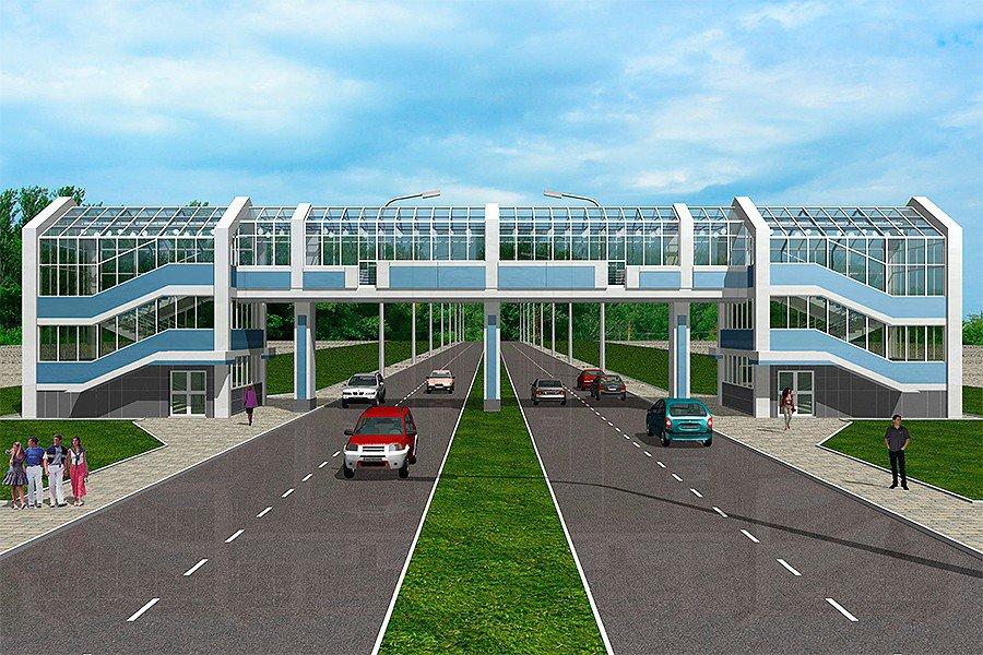 Где в Москве строят 4 новых пешеходных перехода через МЦК
