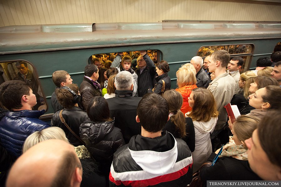 Что сегодня произошло на фиолетовой ветке метро