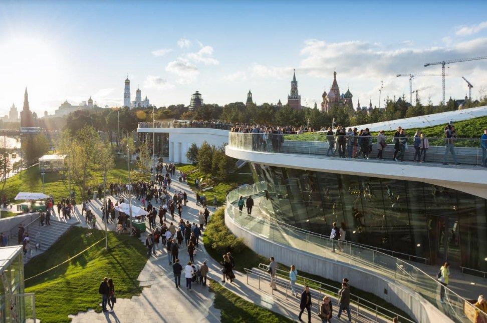Парк «Зарядье» номинируется на престижную международную премию