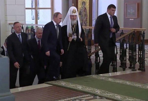 Путин посетит торжественное мероприятие 1030-летия Крещения Руси